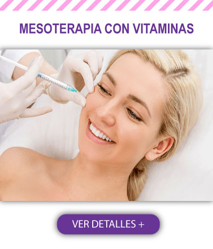 Mesoterapia con Vitaminas